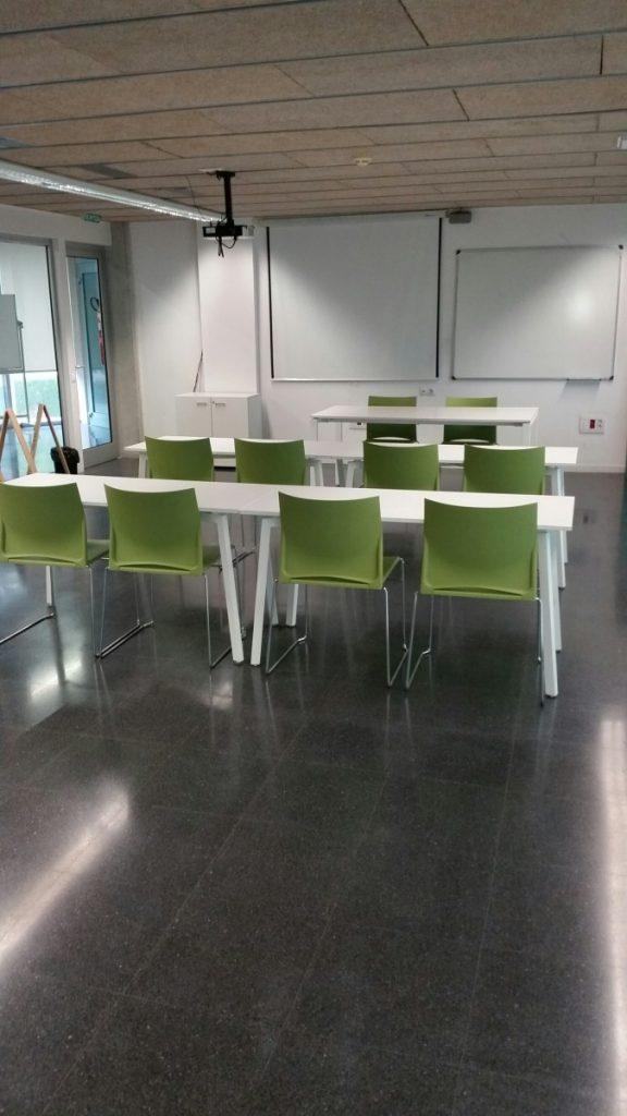 Unterrichtsräume Spanischkurse Spanisch lernen Cambrils Salou